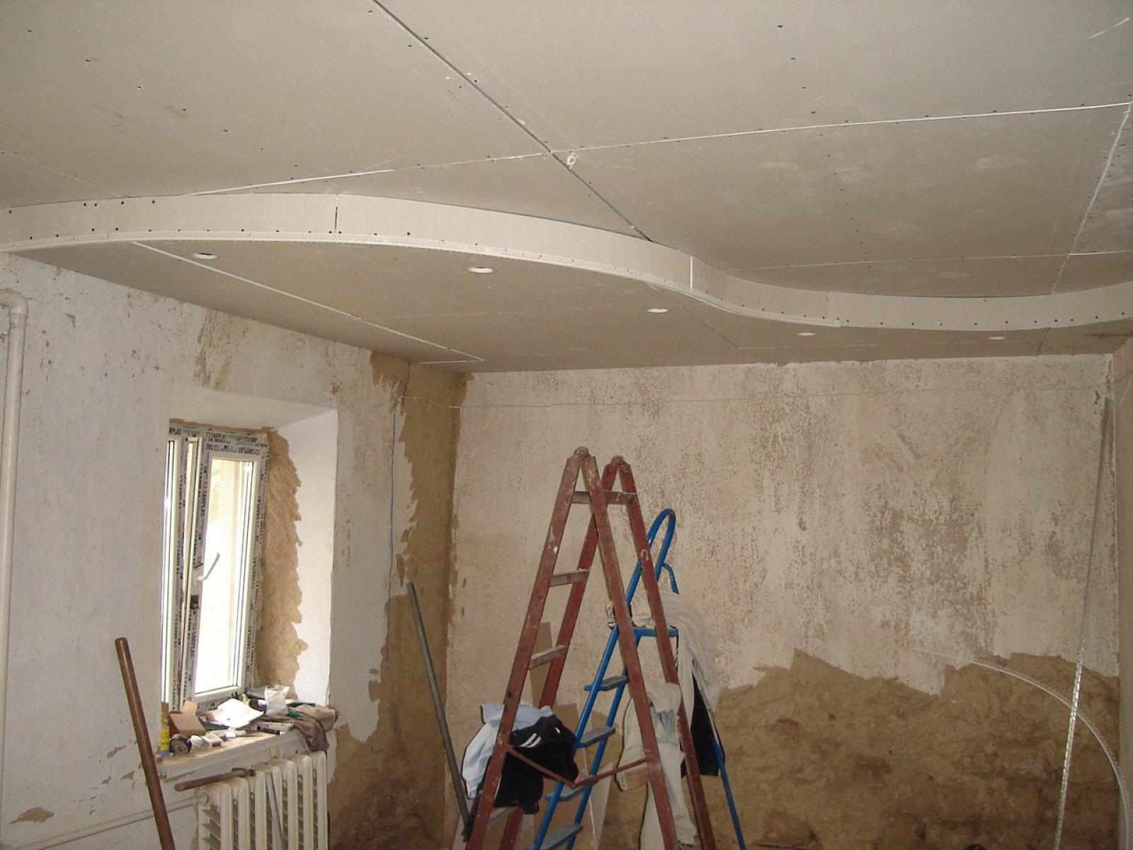 Как сделать ремонт потолка своими руками фото фото 441