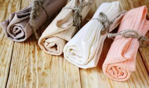 Как отстирать белые кухонные полотенца