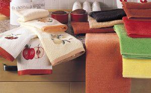 Особенности стирки кухонных полотенец