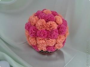 buket_gvozdik_salfetok Цветы из салфеток своими руками