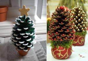 elka_shishek Как сделать ёлку из шишек. Как сделать елку из еловых шишек своими руками