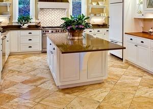 Пробковый пол на кухне: преимущества