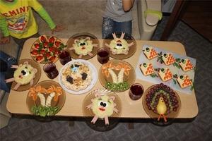 Блюда на Детский День