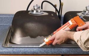 Как установить мойку на кухне