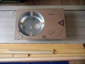 Самостоятельная установка интегрированной  мойки в столешницу