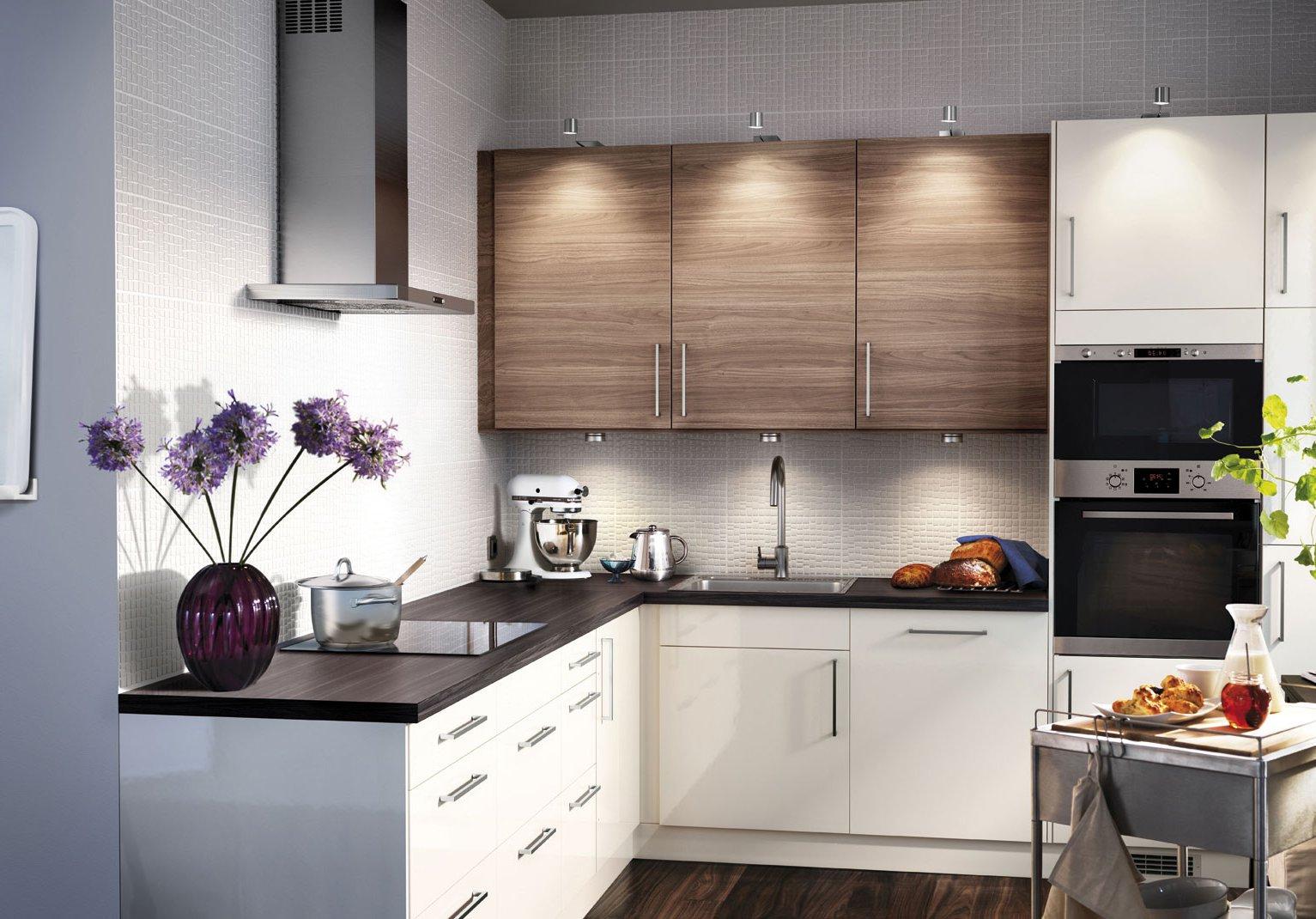 модульные кухни икеа в интерьере многообразие дизайна легкая
