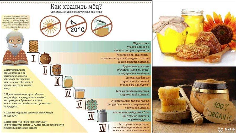 Как хранить мёд в домашних условиях 209